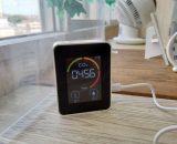 二酸化炭素濃度計を設置しました!
